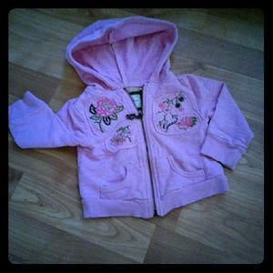 🎀Guess hoodie for baby girl size 12 months🎀